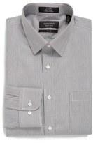Nordstrom Men's Trim Fit Non-Iron Stripe Dress Shirt