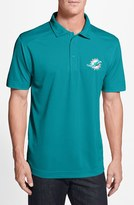 Cutter & Buck Men's 'Miami Dolphins - Genre' Drytec Moisture Wicking Polo
