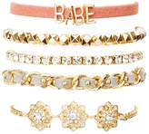 Charlotte Russe Babe Layering Bracelets - 5 Pack