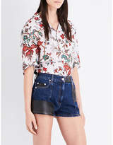 McQ Billy chiffon shirt