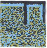 DSQUARED2 leopard print scarf - men - Modal - One Size