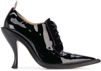 Thom Browne curved heel long point bluchers
