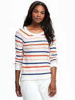 Old Navy Textured Crew-Neck Sweater for Women