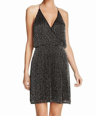 French Connection Women's Enid Shimmer Beaded Mini Dress