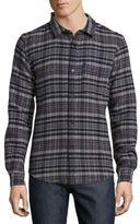 A.P.C. Surchemise Trevor Check Button-Down Shirt