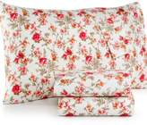 Jessica Sanders CLOSEOUT! Printed Full 4-Pc Sheet Set, 220 Thread Count, Created for Macy's