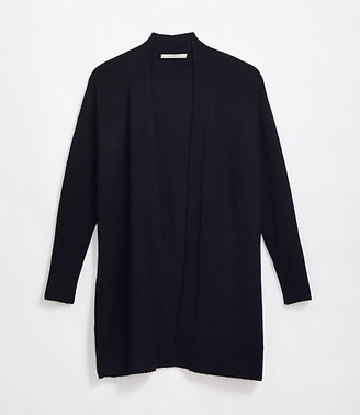 LOFT Drop Shoulder Open Cardigan