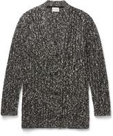 Solid Homme - Bouclé-knit Cardigan