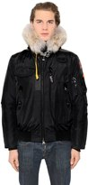Parajumpers Gobi Down Bomber Jacket W/ Fur Trim