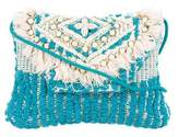 Antik Batik Fringe Embellished Bag