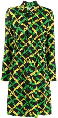 Bottega Veneta Fantasia print dress