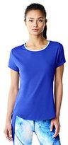 Lands' End Women's Speed T-shirt-White