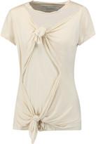 Marques Almeida Marques' Almeida Knotted stretch-jersey T-shirt