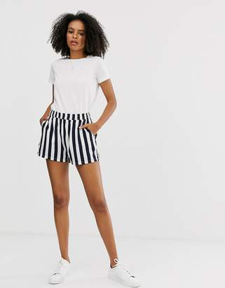 Only stripe shorts-Blue
