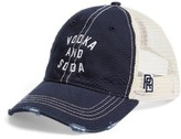 Original Retro Brand Men's Vodka & Soda Trucker Hat - Blue