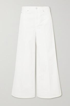 Victoria, Victoria Beckham - Portland High-rise Wide-leg Jeans - White