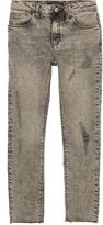 River Island Boys Grey ripped Sid skinny jeans