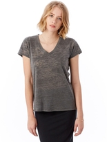 Alternative Ideal Burn Out V-Neck T-Shirt
