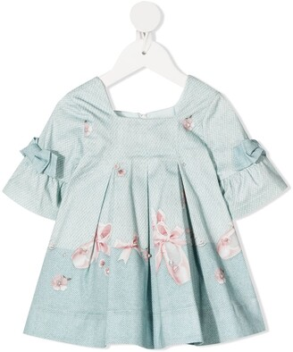 Lapin House Pleated Pearl Dress