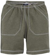 Charlie Rocket Heather Soft Shorts (Baby) - Olive-12-18 Months