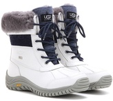 UGG Adirondack Shearling-trimmed Leather Boots