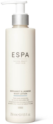 Espa Bergamot and Jasmine Body Lotion 250ml
