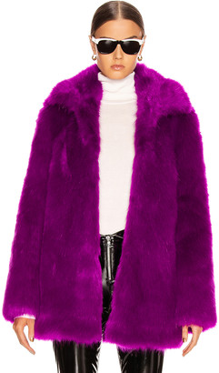 RtA Kate Coat in Magenta | FWRD