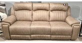 "BEIGE Reclining 94"" W Pillow top Arm Sofa Southern Motion Upholstery Color: Beige, Reclining Type: Manual, Feature: with SoCozi Massage"