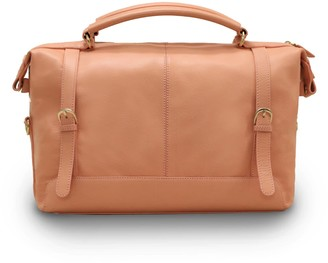 Neyuh Leather The Anne Crossbody Bag Pink