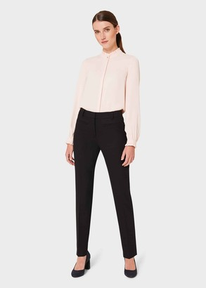 Hobbs Laurel Wool Blend Tapered trousers With Stretch