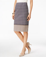 Charter Club Multi-Print Pencil Skirt, Only at Macy's
