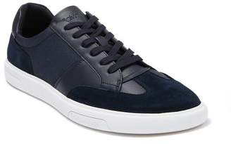 Calvin Klein Gaius Silky Suede & Leather Sneaker