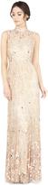 Alice + Olivia Susanne Highneck Sleeveless Gown