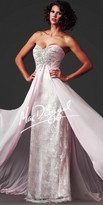 Mac Duggal Angelic Beaded Sweetheart Prom Dress