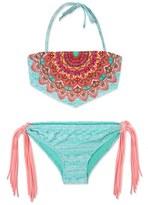 Gossip Girl 'La Bayadere' Two-Piece Swimsuit (Big Girls)