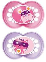 Mam Original 12+ Months Soother, Pink 2 per pack - Pack of 4