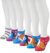 Disney Women's 6-pk. Pixar No-Show Socks