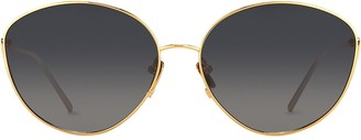 Linda Farrow 508 C4 cat-eye sunglasses