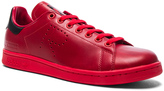 Raf Simons x Adidas Leather Stan Smith Sneakers