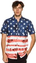 Billabong Red White And Yew Ss Shirt