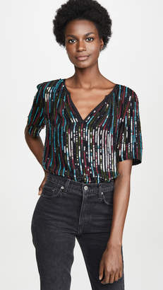 Velvet Nikky Sequin Top