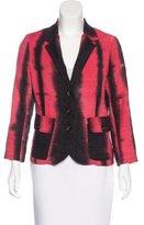Kelly Wearstler Silk Tie-Dye Blazer