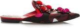 Emilio Pucci Embellished Flat Mule