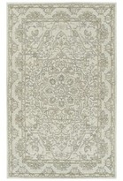 Ophelia Benbow Floral Handmade Tufted Wool Ivory Area Rug & Co. Rug Size: Runner 2' x 8'