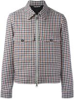 Ami Alexandre Mattiussi zipped jacket - men - Cotton/Virgin Wool - M