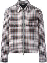Ami Alexandre Mattiussi zipped jacket - men - Cotton/Virgin Wool - M