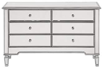 Elegant Decor 6 Drawer Dresser