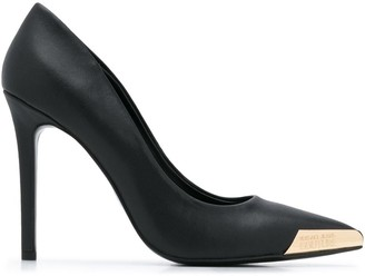Versace Jeans Couture Metal-Tipped Pumps