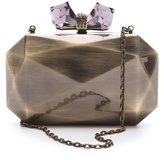 Judith Leiber Overture Danielle Faceted Clutch