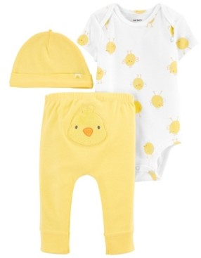 Carter's Baby Boys and Girls Easter 3-Pc. Pants Set